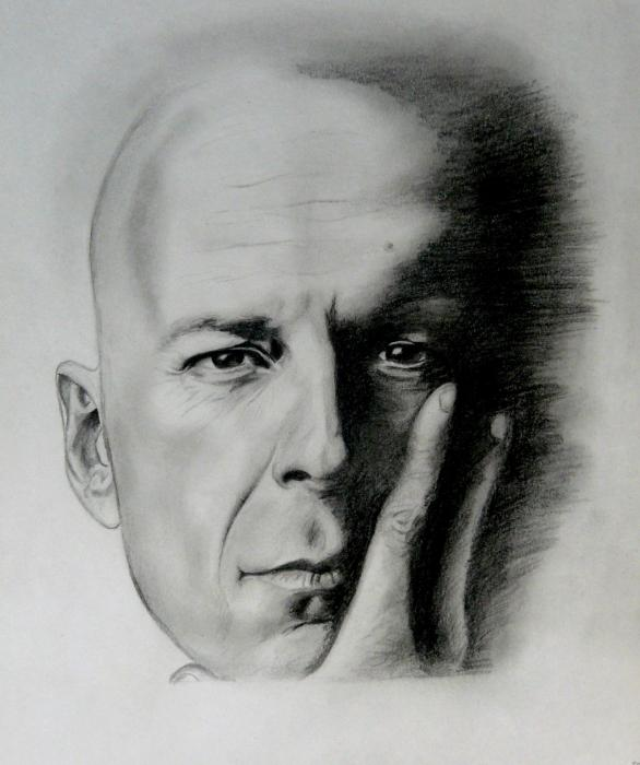 Bruce Willis by Deny